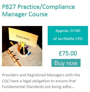 Practice/Compliance Manager Course