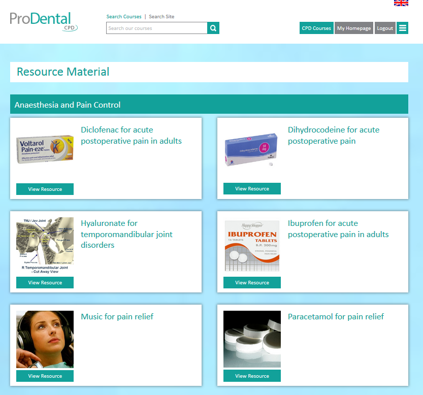 ProDental CPD's general (non-verifiable) CPD resource
