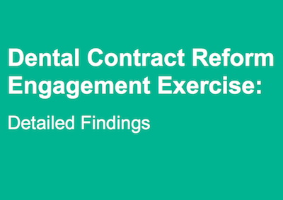 Dental Contract Reform (2015) supporting image