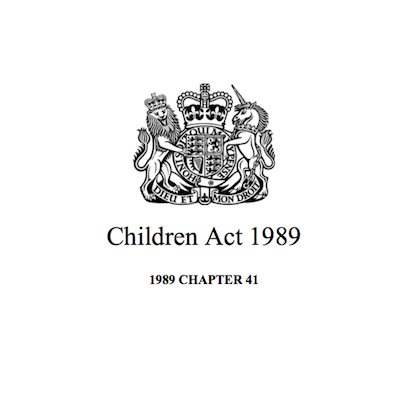 Children Act 1989 supporting image