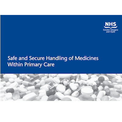 Safe and Secure Handling of Medicines in Primary Care supporting image