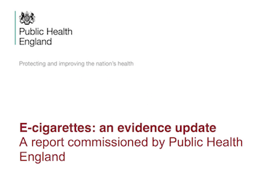 E-cigaretes: an evidence update supporting image