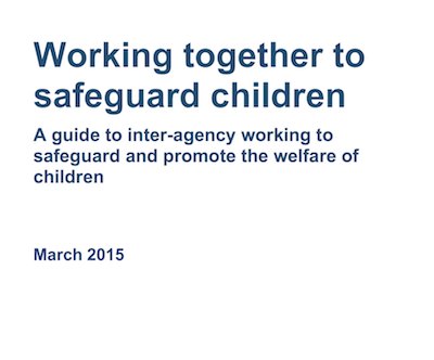 Working together to safeguard children supporting image